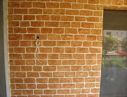 Tencuieli decorative Decowall Red Brick